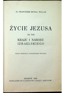 Życie Jezusa 1936 r.