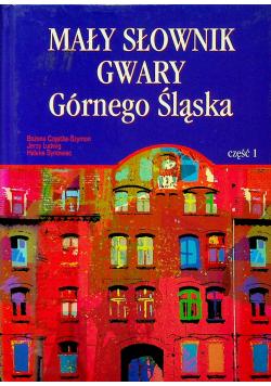 Mały słownik gwary Górnego Śląska część 1