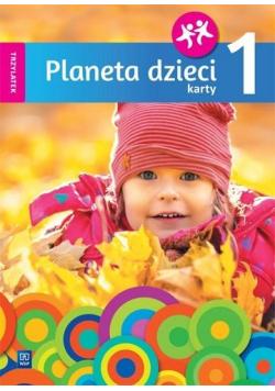 Planeta dzieci. Trzylatek. Karty pracy cz.1 WSiP