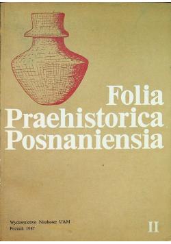Folia Praehistorica Posnaniensia tom II