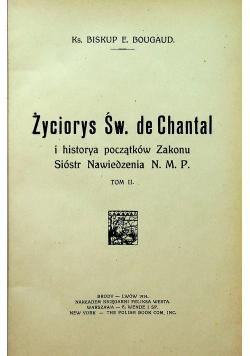 Życiorys Św de Chantal 1914 r.