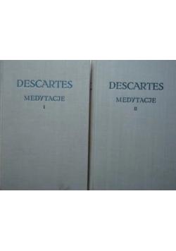 Descartes medytacje tom I - II