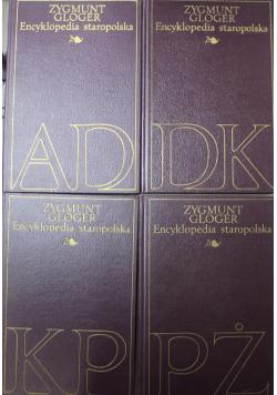 Encyklopedia Staropolska 4 tomy