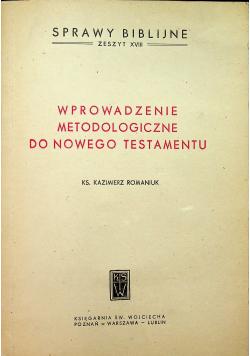 Wprowadzenie metodologiczne do Nowego Testamentu