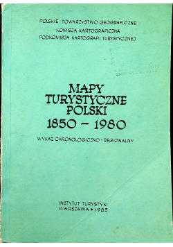 Mapy turystyczne polski 1850 1980