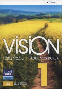 Vision Students Book 1 Podręcznik dla liceów i techników