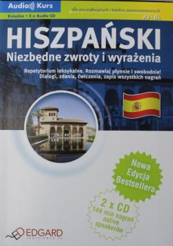 Hiszpański  Niezbędne zwroty CD EDGARD