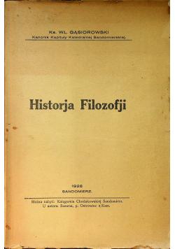 Historja Filozofji 1928 r