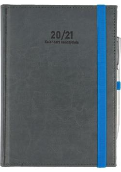 Kalendarz Nauczyciela A5 2020/2021 Nebraska szary