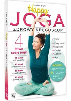 Happy Joga. Zdrowy kręgosłup + DVD