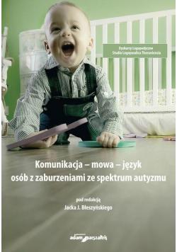 Komunikacja - mowa - język osób z zaburzeniami...