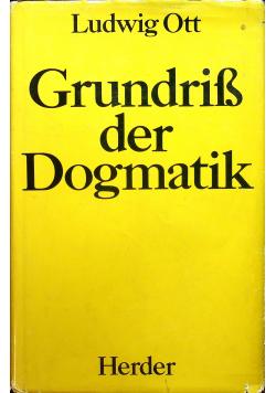 Grundriss der Dogmatik