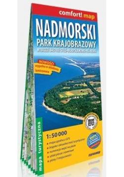 Comfort! map Nadmorski Park Krajobrazowy mapa tur.