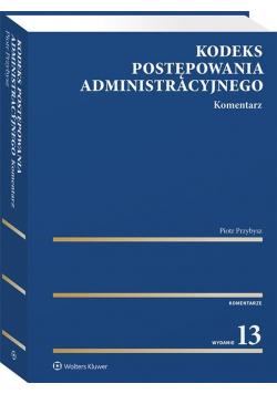Kodeks postępowania administracyjnego w.13