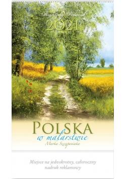 Kalendarz 2021 Reklamowy Polska w malarstwie RW6