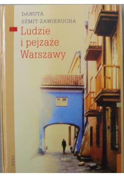 Ludzie i pejzaże Warszawy