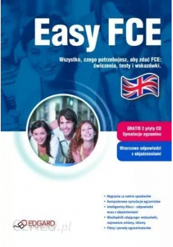 Easy FCE plus 2 płyty CD