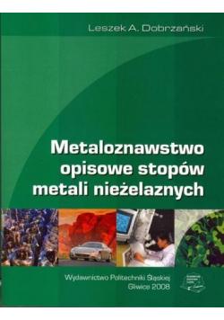 Metaloznawstwo opisowe stopów metali nieżelaznych