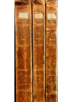 Żywoty Świętych Pańskich Męczenników i Ojców Kościoła 3 tomy ok 1842 r.