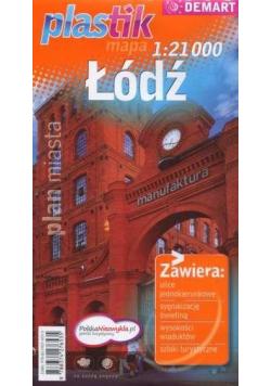 Plan miasta - Łódź PLASTIK  DEMART