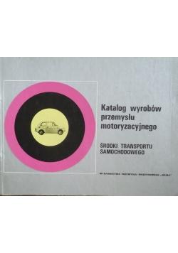 Katalog wyrobów przemysłu motoryzacyjnego Środki transportu samochodowego