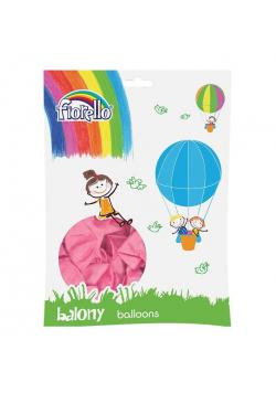 """Balony Metal 12"""" różowy (100szt) FIORELLO"""