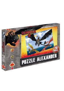 Puzzle Maxi Jak wytresować smoka 2 Lot nad ALEX
