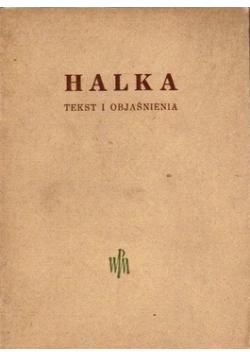 Halka Tekst i objaśnienia