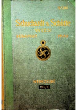 Schuchardt Schutte 1912r