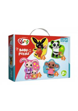 Puzzle Baby Classic - Bing i przyjaciele TREFL