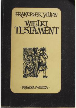 Wielki Testament  1950 r.