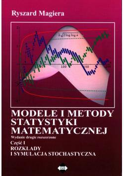 Modele i metody statystyki matematycznej Część 1