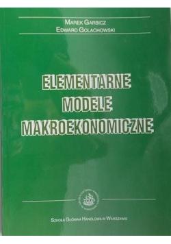 Elementarne modele makroekonomiczne