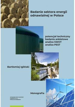 Badanie sektora energii odnawialnej w Polsce