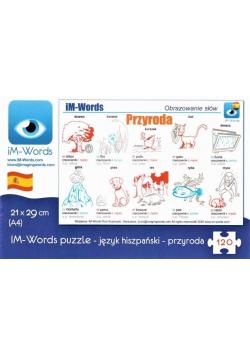 iM-Words Puzzle 120 Hiszpański - Przyroda