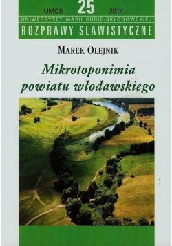 Mikrotoponimia powiatu włodawskiego