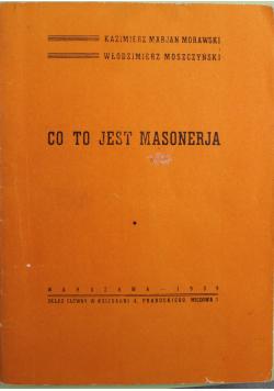 Co to jest masoneria Reprint z 1939 r