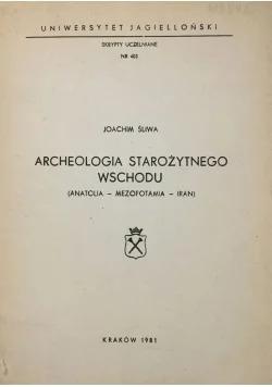 Archeologia Starożytnego wschodu