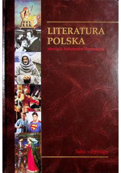 Słownik bohaterów literackich Tom 14 Saba - Żywago