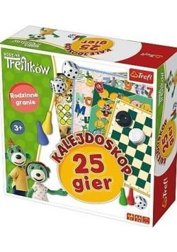 Rodzina Treflików Kalejdoskop 25 gier NOWA