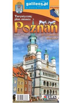 Plan miasta - Poznań 1:12 000