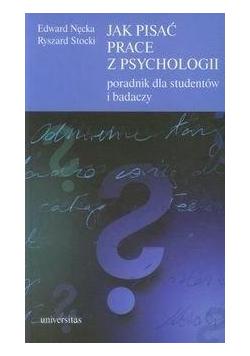 Jak pisać prace z psychologii