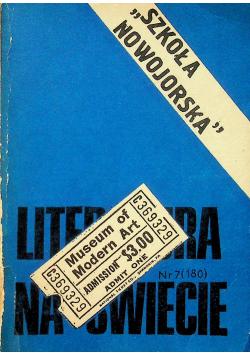 Literatura na świecie Nr 7