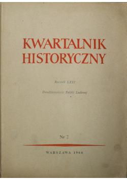 Kwartalnik Historyczny Rocznik LXXI Nr 2