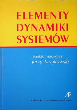 Elementy dynamiki systemów