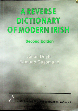 A reverse dictionary of modern irish