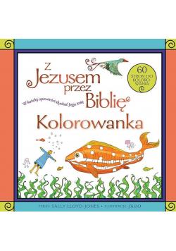 Z Jezusem przez Biblię. Kolorowanka