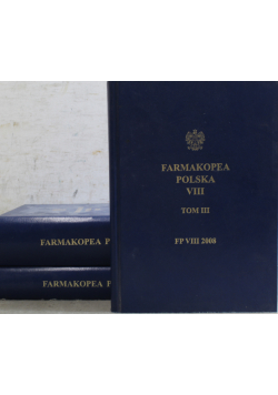 Farmakopea Polska VIII 3 tomy