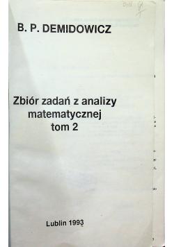 Zbiór zadań z analizy matematycznej Tom II