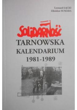 Solidarność tarnowska Kalendarium 1981 do 1989 Tom II